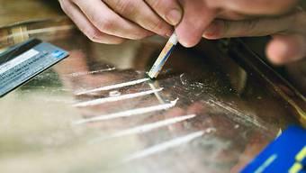 Kokain ist die zweitwichtigste Droge in Europa (gestellte Aufnahme, Archiv)