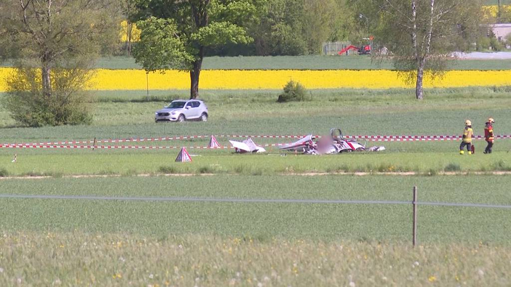 Flugzeugabsturz in Oberramsern fordert zwei Todesopfer