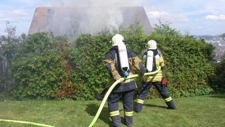 Die Feuerwehr hatte im Baselbiet einiges zu tun.