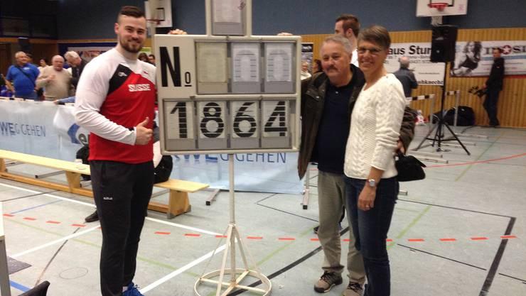 Gregori Ott hält seit kurzem den Schweizer U23-Rekord.