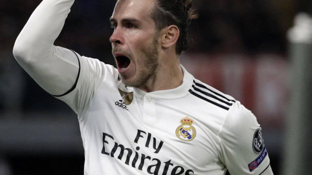 Kein Kandidat für einen Wechsel zu Bayern München: der bei Real nicht mehr hoch im Kurst stehende Waliser Gareth Bale