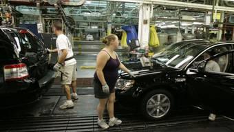 US-Automobilindustrie mit besonderer wirtschaftlicher Aktivität
