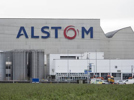 Alstom-Fabrik in Birr im Kanton Aargau