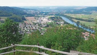 Wie hier in Rekingen besteht im gesamten Bezirk Baupotenzial.