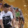 Der britische Vorjahressieger Chris Froome bei der Teampräsentation am Donnerstag in La Roche-sur-Yon
