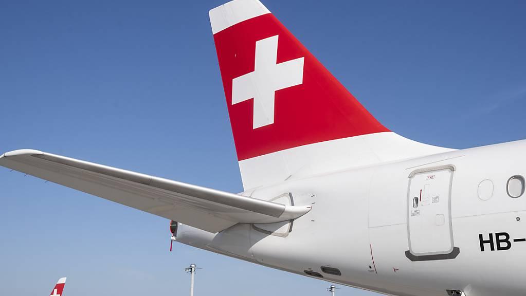 Die Corona-Pandemie hat die Swiss im ersten Halbjahr in die roten Zahlen gerissen. (Archiv)