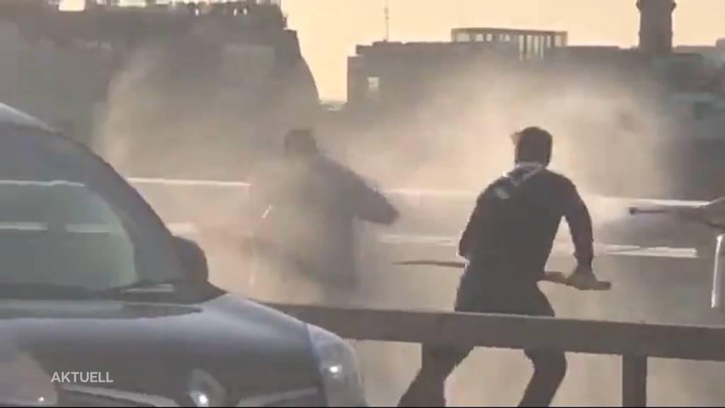 Messerattacke in London: Passanten verhinderten Schlimmeres