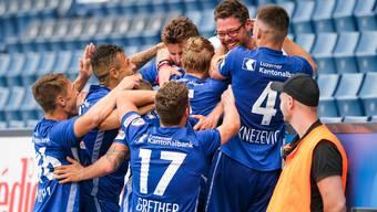Solche Jubelszenen soll es nicht mehr geben: Die Swiss Football League hat die Regeln verschärft.