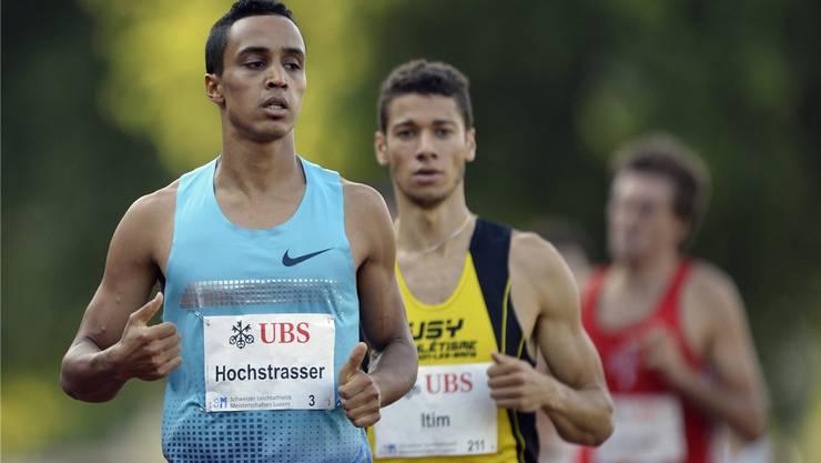 Wiil auf den EM-Zug noch aufspringen: Jan Hochstrasser (links).