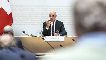 Gesundheitsminister Alain Berset sagt: «Grossanlässe sind wichtig für Sport, Kultur und Wirtschaft, aber auch für unser gesellschaftliches Leben.»