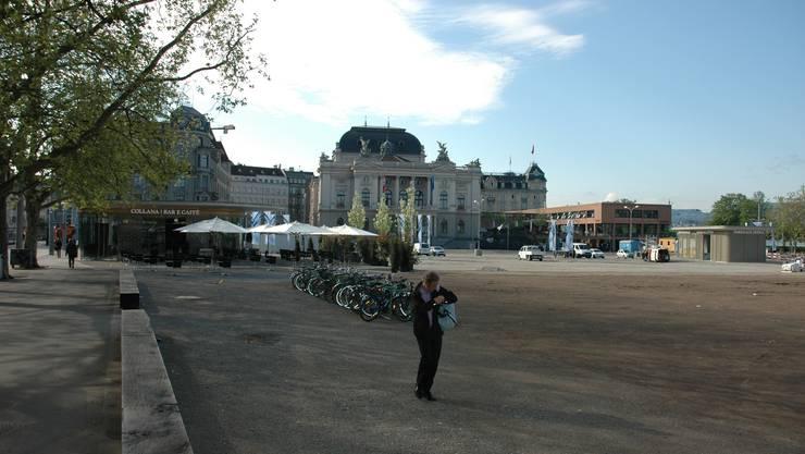 Die Umgestaltung des Sechseläutenplatzes in Zürich gibt zu reden