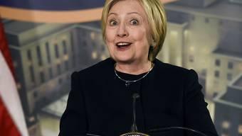 Glaubt an eine bessere Zukunft mit gleichberechtigten Frauen und Männern: Hillary Clinton. (Archivbild)