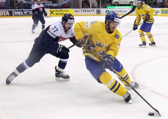 Der 28-jährige Schwede stürmt ab dieser Saison neu für den HC Lugano. Er stöss von Lulea ins Tessin.