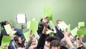 Die Grünen stimmen für die Abstimmungsvorlagen. (Symbol)