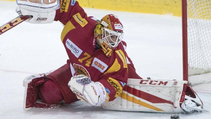 Langnaus Goalie Ivars Punnenovs – der derzeit wohl beste Torhüter der Liga.