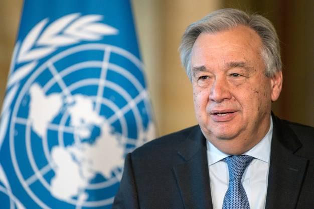 UNO-Generalsekretär António Guterres legt eine «Roadmap» für digitale Kooperation vor.