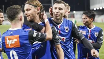 Fussball, Challenge League, SC Kriens - FC Aarau (15.12)