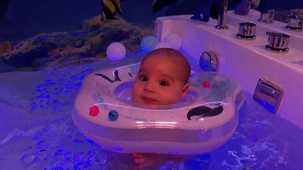 Unnötiger Luxus oder Verwöhnungsprogramm: Baby Spa in Zürich-Wipkingen