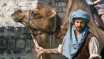 «Die Kamele sind los», lautet das Motto des Römertags Vindonissa. Museum Aargau