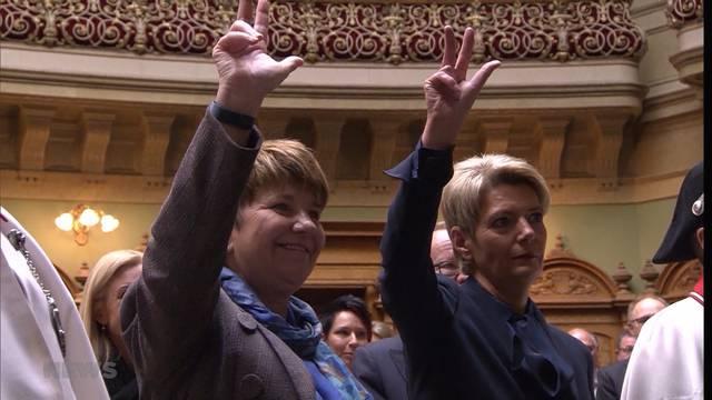 Grosser Tag für die Frauen, wichtiger Tag für die Schweiz