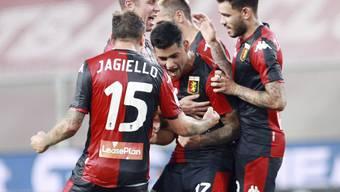Der FC Genoa sicherte sich dank einem 3:0-Sieg letztlich doch noch souverän den Klassenerhalt