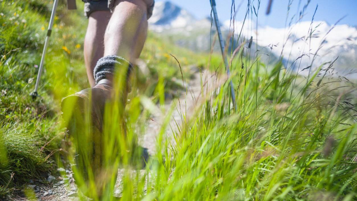 Ein Wanderer in Vorarlberg fand den Weg zur Gruppe nicht mehr. (Symbolbild)