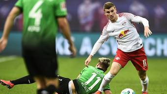 Timo Werner schiesst Leipzig im Verfolgerduell gegen Hannover zum Sieg