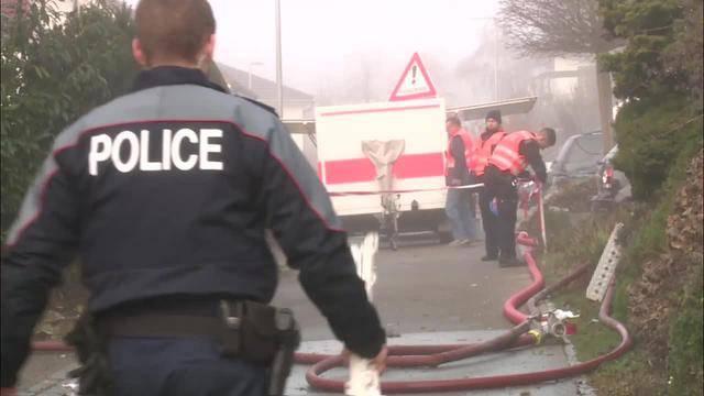 Explosion in Kallnach