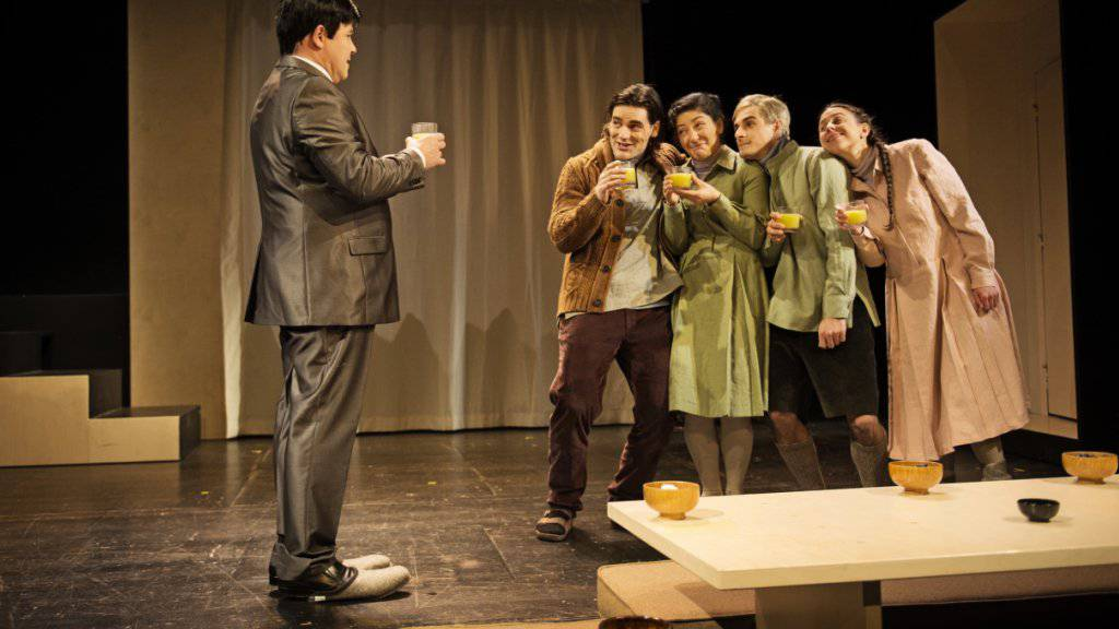 «Der Chinese» des Theater Orcherster Biel Solothurn (TOBS) in der Regie von Max Merker ist am Heidelberger Stückemarkt 2017 mit den NachSpielPreis ausgezeichnet worden. (Archiv)