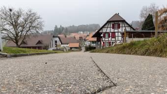Der Zustand der Chätschgasse rechtfertige längst eine Sanierung, so der Gemeinderat von Lüterswil-Gächliwil.