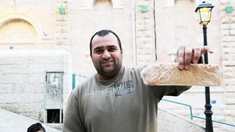 """Ahmad und sein """"hausgemachter"""" Kuchen,"""