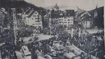 Baden war nicht mehr «längste Stadt»