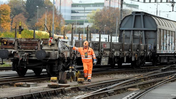 Baustelle Güterverkehr: SBB-Cargo stellt sich neu auf.
