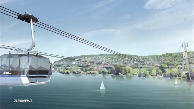Seilbahn über Zürichsee geplant
