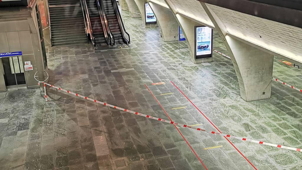 Mann nach Messerstecherei am Bahnhof Luzern lebensbedrohlich verletzt