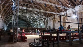 In der alten Reithalle soll ein Theater entstehen, doch das aktuelle Projekt ist zu teuer. Chris Iseli
