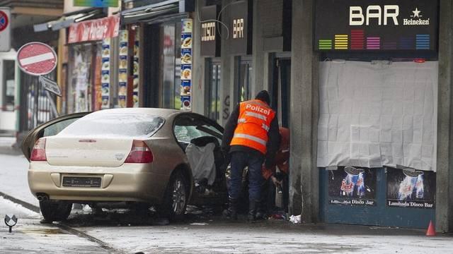 Der Unfallort am 10. Februar 2012