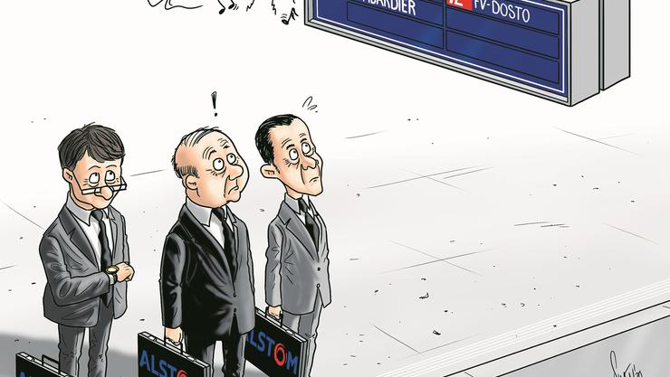 Deal von Bombardier und Alstom
