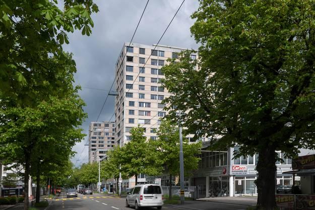 185 Wohnungen: das Teilareal Letzibach C an der Hohlstrasse in Altstetten.