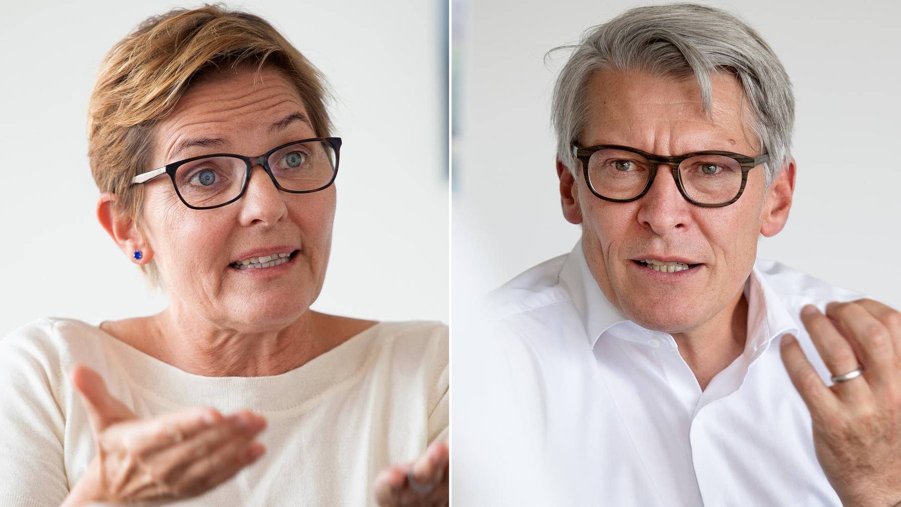 Stefanie Ingold und Markus Schüpbach