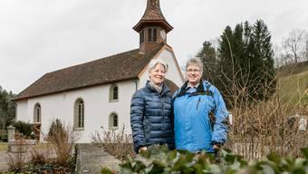 Elsbeth Zürcher (l.) und Heidi Hofmann sagen, sie könnten es nicht besser haben.