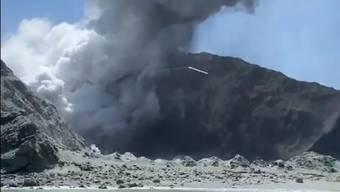 Keine Hoffnung mehr, Überlebende auf der Vulkaninsel White Island zu finden.