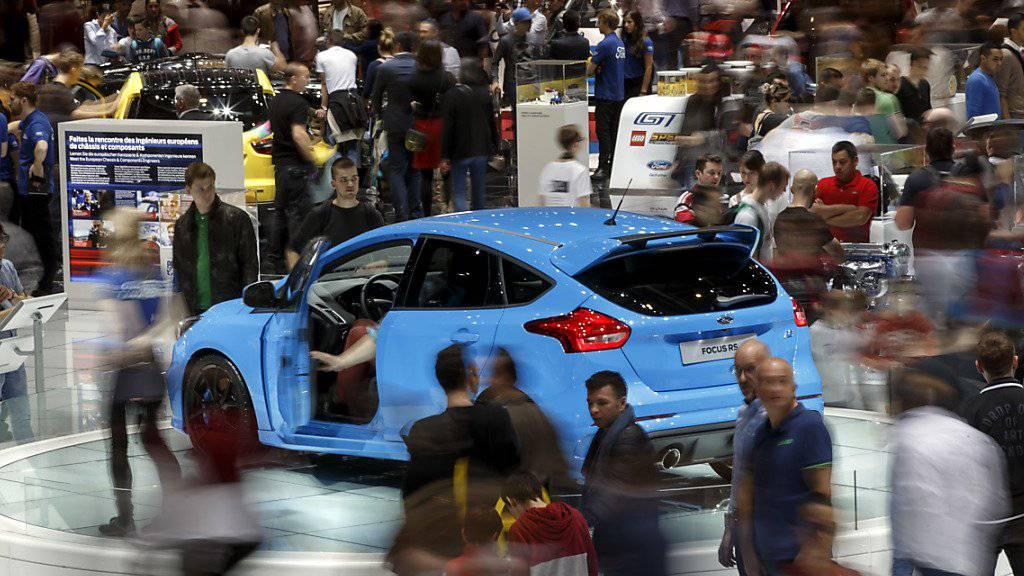 Der internationale Automobilsalon in Genf hat auch dieses Jahr wieder viele Interessierte angezogen.