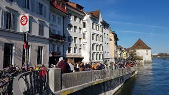 Für ein Bierchen sehr beliebt: das Solothurner Aaremürli.