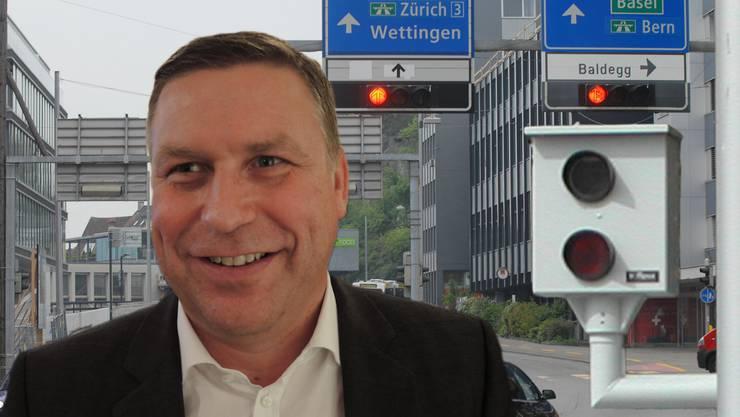 Der Nussbaumer SVP-Grossrat Martin Keller will Blechpolizisten verhindern