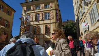 Aarauer en visite à Neuchâtel