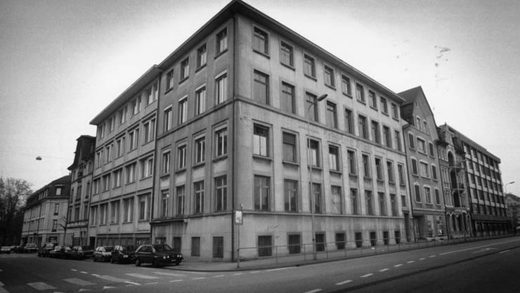 Ehemalige Vogt-Schild an der Bertastrasse/Dornacherstrasse