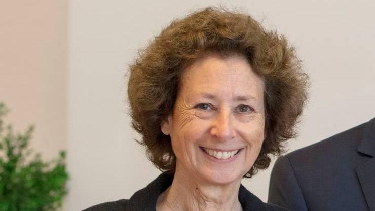 Beth Krasna, die Interims-Präsidenten des ETH-Rats.
