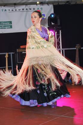 Flamenco-Tänzerin Esmeralda Fuentes
