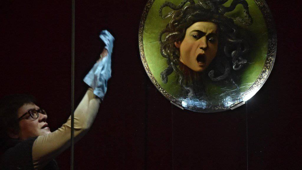 Erfolgreicher Direktor der Uffizien, wo auch die ‹Medusa› von Michelangelo Merisi - besser bekannt als Caravaggio - hängt.